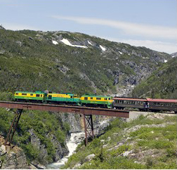 White Pass Railroad Skagway Alaska